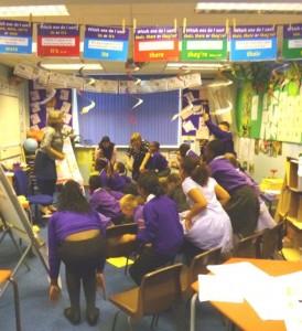 Classroom fun ...