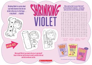 shrinking-violet-activity-sheet